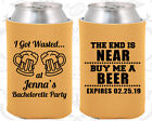 Bachelorette Party Koozies Favors Decorations (60015) End Is Near Buy Me A Beer