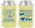 Bachelorette Party Koozies Favors Ideas (60167) Pool Party, I Do