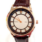 Watch Business Quartz Men Casual S Luxury Analog Wristwatch Leather Brand Strap