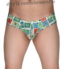 Men Hip-hop Sports Briefs Tanga Underwear Micro Pants Bikini Trunks Thong Boxers