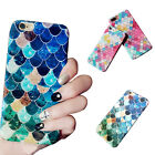 3D Fish Scale Hard Cell Phone Cases Covers Protector for iPhone 6 6S 7 Plus US