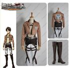 Attack on Titan  Training Corp Eren Jager  Cosplay Costume +  Shoes Full Set