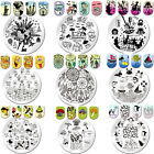 Nail Stamping Image Plate Template Nail Art Image Plate Manicure BORN PRETTY