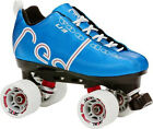 NEW! LABEDA VOODOO U3 BLUE QUAD SPEED ROLLER SKATES MENS sz 5 ABEC 9 $200 valu