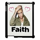 Personalised Justin Bieber Apple Ipad Case 2/3/4, Add Any Name, Great Gift,