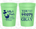 Baby Shower Cups Cup Favors (90010) Coed, Couple