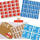 Royal Mail 1st Class 2nd class Letter Large Letter Self Adhesive Postage Stamps