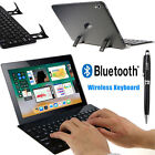 Wireless Bluetooth Keyboard Retractable Stand+Stylus for New iPad Pro 10.5 inch