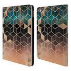 OFFICIAL ELISABETH FREDRIKSSON CUBES COLLECTION LEATHER BOOK CASE FOR APPLE iPAD