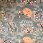 Star Wars Space Quest Storm Trooper Chewbacca 100% Cotton Curtain Lining Fabric £9.5 GBP