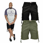 Duke D555 Mens Big Tall King Size Jarrod Cargo New Designer Combat Summer Shorts