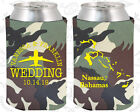 Army Camouflage Wedding Koozies Koozie Favors Gift Ideas Decorations Gifts (158)