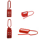 ASG BEIAN-LOCK Safety Plastic Lockout Non-Conductive Nylon Hasps Lock Tagout New