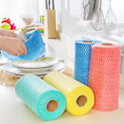1 Roll Kitchen Disposable Non-woven Fabrics Washing Cleaning Cloth Wiping SourJR