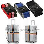Luggage Suitcase Baggage Cross Strap Belt With Secure Coded Lock 1PCS