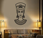 Vinyl Wall Decal Nefertiti Queen Of Ancient Egypt Egyptian Woma Sticker (1466ig)