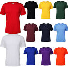 Mens Gildan Anti Microbial Performance Fit Crew Neck Adult Core T-shirts S-3XL