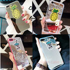 For Samsung S8+ Girly Cute Mirror Pineapple Drinks Cloth Shockproof TPU S8 Cover