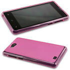 caseroxx Smartphone Case Medion Life E4503 MD 99232, TPU-Case in pink + Screen P
