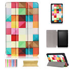 For Amazon Kindle Fire 7 7th Gen 2017 Release Tablet Magnetic Case Leather Cover