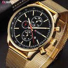 CURREN New Luxury Watch Men Watches Gold Steel Quartz Calendar Wristwatches 8227