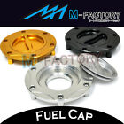 Billet Keyless Fuel Petro Gas Cap Fit BMW R1150 Adventure GS R Rockster RS RT
