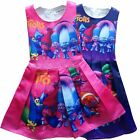 New girl princess Party Trolls  dress kids clothes size 2-7yrs