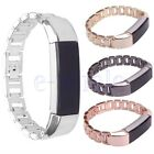 Stainless Steel Accessory Watch Band Metal Strap Bracelet For Fitbit Alta &HR WS