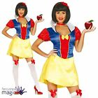 Ladies Sexy Fairy Tale Snow White Book Week Fancy Dress Outfit Costume Princess