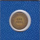 Metropolitan Transit Authority One Fare Marke Jeton token