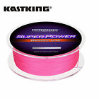 KASTKING SUPERPOWER BRAIDED FISHING LINE INCREDIBLE  SUPERLINE – 300YARDS - PINK