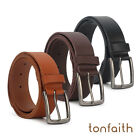 Men's Genuine Leather Belt Casual Style Length With Anti Nickel Buckle