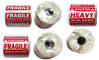 "FRAGILE(1""x3"", 2""x3"") HEAVY(2""x3"") HANDLE WITH CARE Stickers Labels Value Set"