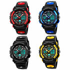 Junior Kids Boy Watch Quartz Digital Sport Electronic LED Waterproof Wristwatch image