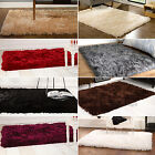 SMALL - EXTRA LARGE SUMPTUOUS LUXURY SOFT THICK FLUFFY DEEP LONG PILE SHAGGY RUG