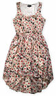 Ladies Floral Dress New Womens Plus Size Summer Daisy Chiffon Curve Dresses