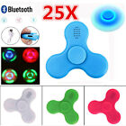 25X LED Light Bluetooth Speaker Hand Fidget Spinner Gyro Desk Toys Anti-anxiety