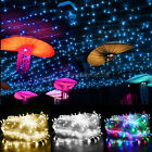 500LED Solar Energy Battery Fairy String Lights Garden Party Deco XMAS Christmas