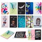 For Kindl fire 7 HD 8(2017 Version) printed tablet case flip folios protect skin