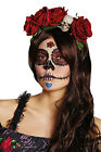 Rubies Day Of The Dead Headband Womens Girls Halloween Fancy Dress Accessory
