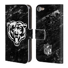 OFFICIAL NFL 2017/18 CHICAGO BEARS LEATHER BOOK CASE FOR APPLE iPOD TOUCH MP3