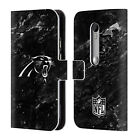 OFFICIAL NFL 2017/18 CAROLINA PANTHERS LEATHER BOOK CASE FOR MOTOROLA PHONES