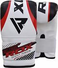RDX Punching Bag FILLED MMA Boxing Hand Wraps Punch GLoves Set Heavy Chains US
