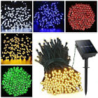 33-73 FT 100 200 LED String Solar Powered Fairy Lights Garden Christmas Outdoor