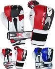 Cow Hide Leather Boxing Gloves Punch Bag MMA Fight Thai Kick Training 3XSports