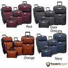NEW Travel Select by Traveler's Choice Amsterdam 4-piece Rolling Luggage Set