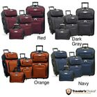 NEW Travel Select Amsterdam 4-piece Expandable Rolling Luggage Tote Set Suitcase