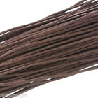 Gift Wholesale Waxed Cotton Cord 1mm Coffee For Bracelet/ Necklace