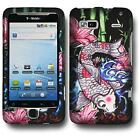 Designer Snap on Rubberized Protector Case Shell Cover For HTC Desire Z - Koi