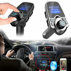 In-Car Bluetooth FM Transmitter Hands-free Calling Wireless Audio Receiver
